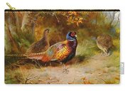 Autumn Covert Pheasants Carry-all Pouch