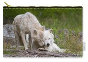 Arctic Wolves Carry-all Pouch