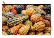 Autumn Gourds Carry-all Pouch by Joann Vitali