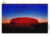 Ayres Rock Carry-all Pouch
