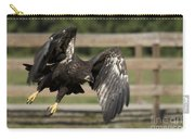 Bald Eagle In Flight Photo Carry-all Pouch