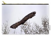Bald Eagle Soaring Carry-all Pouch