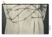 Barbed Wire Carry-all Pouch by Joana Kruse