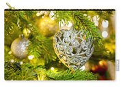 Bauble In A Christmas Tree  Carry-all Pouch