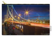 Bay Bridge Carry-all Pouch by Inge Johnsson