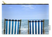 Beach Chairs Carry-all Pouch by Joana Kruse
