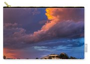 Beach Front Rain Carry-all Pouch by Marvin Spates