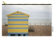 Beach Hut At Kingsdown Carry-all Pouch