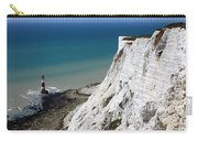 Beachy Head Cliffs And Lighthouse  Carry-all Pouch