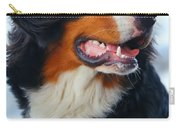 Beautiful Dog Portrait Carry-all Pouch