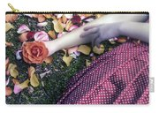 Bedded In Petals Carry-all Pouch