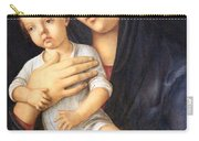 Bellini's Madonna And Child Carry-all Pouch