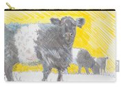 Belted Galloway Cows Carry-all Pouch