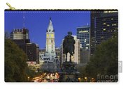 Ben Franklin Parkway And City Hall Carry-all Pouch