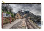Berwyn Railway Station Carry-all Pouch by Adrian Evans