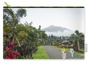 Besakih Temple And Mount Agung View In Bali Indonesia Carry-all Pouch