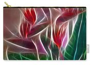 Bird Of Paradise Fractal Carry-all Pouch