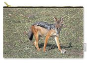 Black Backed Jackal Carry-all Pouch
