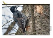 Black-backed Woodpecker Carry-all Pouch