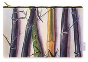 Black Bamboo Carry-all Pouch