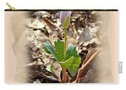 Bloodroot Wildflower - Sanguinaria Canadensis Carry-all Pouch