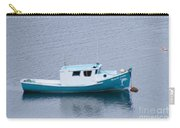 Blue Moored Boat Carry-all Pouch