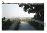 Boardwalk To The Beach Carry-all Pouch