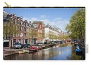 Boats On Amsterdam Canal Carry-all Pouch