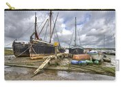 Boats On The Hard At Pin Mill Carry-all Pouch