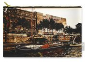 Boats On The Seine Carry-all Pouch