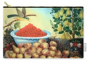 Bond's Still Life Of Bird And Dwarf Pear Tree Carry-all Pouch
