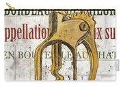 Bordeaux Blanc 2 Carry-all Pouch by Debbie DeWitt