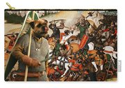 Border Terrier Art Canvas Print  Carry-all Pouch