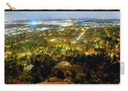 Boulder Colorado City Lights Panorama Carry-all Pouch