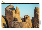 Boulders In A Desert, Joshua Tree Carry-all Pouch