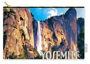 Bridal Veil Falls Yosemite National Park Carry-all Pouch