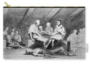 British Prison Ship, 1770s Carry-all Pouch
