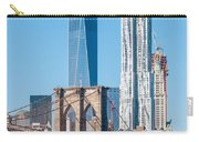 Brooklyn Bridge And New York City Manhattan Skyline Carry-all Pouch