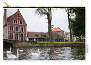 Brugge Canal Scene Carry-all Pouch