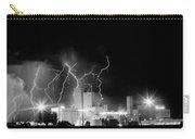 Budweiser Lightning Thunderstorm Moving Out Bw Carry-all Pouch by James BO  Insogna