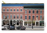 Buildings Along A Street, Thomaston Carry-all Pouch