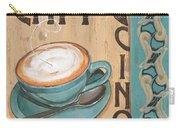 Cafe Nouveau 1 Carry-all Pouch by Debbie DeWitt