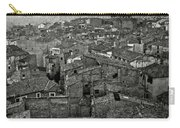 Calahorra Roofs From The Bell Tower Of Saint Andrew Church Carry-all Pouch by RicardMN Photography