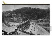 California Railroad Carry-all Pouch