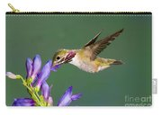 Calliope Hummingbird Stellula Calliope Carry-all Pouch