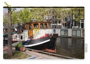 Canal In The City Of Amsterdam Carry-all Pouch