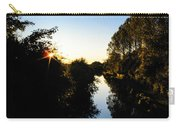 Canal Sunset Carry-all Pouch