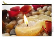 Candle And Petals Carry-all Pouch