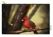 Cardinal Pose Carry-all Pouch by Karol Livote