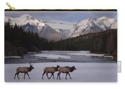 Elk Crossing, Banff National Park, Alberta Carry-all Pouch